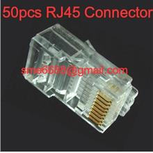 *RJ45 Connector ^Lan Network Cable Cat5e Cable 50pcs