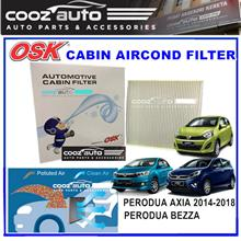 Perodua Axia Bezza 2014 - 2018 OSK Cabin Aircond Replacement Filter