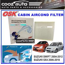 Suzuki Swift 2004 - 2012 SX4 2006 - 2014 OSK Cabin Aircond Replacement Filter