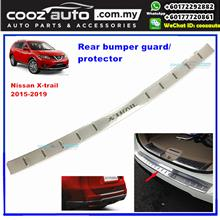 Nissan X-Trail T32 2015 - 2019 Chrome ABS Rear Bumper Guards Protector