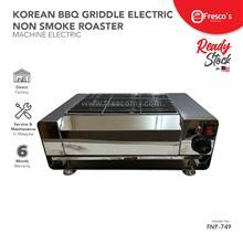 Korean BBQ Griddle Electric Non Smoke Roaster FNP-749
