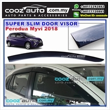 Perodua Myvi 2017 2018 Super Slim Style Anti UV Light Acrylic Door Vis