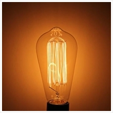 YOUOKLIGHT E27 40W 400LM 3000K 220V RETRO SQUIRREL CAGE TUNGSTEN FILAMENT BULB