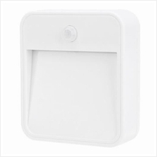 0.5W 45LM LED NIGHT LIGHT WITH MOTION SENSOR (WHITE)