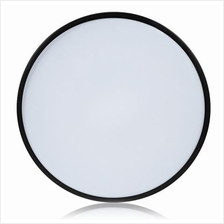 Round 5CM Ultra-thin LED Ceiling Lamp for Home (BLACK)