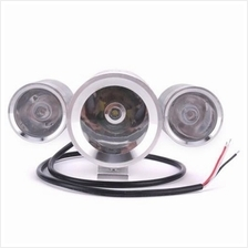 D1109S 12 - 60V 30W 1200LM 3-IN-1 BRIGHT HEADLIGHT RED / BLUE FLASHING LIGHT F
