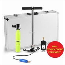 SMACO Mini Portable Oxygen Tank Scuba Diving Equipment Cylinder Set