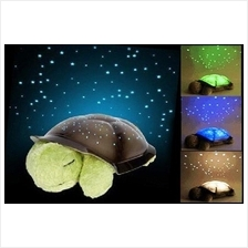 TURTLE NIGHT Twilight Sky Lamp Projector LED Light Star Toy Music Baby