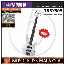 Yamaha TRBX305 5-string Electric Bass Guitar - White (TRBX 305)