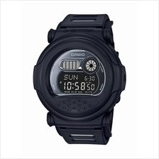 Casio G-SHOCK Men Classic Round All Black Digital Watch G-001BB-1DR