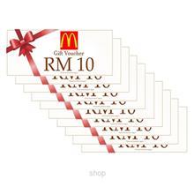 8d08908b7e8 McDonalds Dining Voucher RM10 x 10