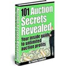 1 pc ebook - 101 Auction Secret Reveal - Resell Right Included