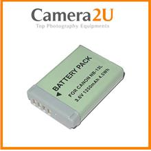 Grade A NB-13L Li-Ion Battery for Canon G5X G7X G9X SX620 SX740 NB13L