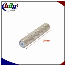 Nozzle Throat Hot End M6*26 with Teflon Tube for 3D printer