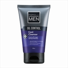 NANO MEN Oil Control Cool Cleanser 100ml)