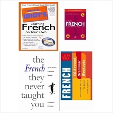 3 Ebooks + Audiobook:The Complete Guide to Learning French on Your Own
