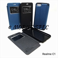 OPPO REALME C1 2 PRO FLIP POUCH BAG S VIEW MERCURY COVER CASE