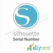 silhouette connect serial number