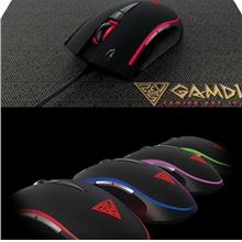 Gamdias Zeus E2 Multi Color Optical Gaming Mouse With Mouse Pad