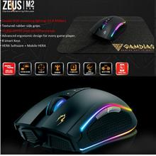 Gamdias Zeus M2 RGB Optical Mouse With Mouse Pad