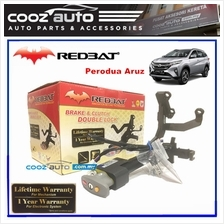 Perodua Aruz Redbat Double Brake Pedal Lock with Socket Immobilizer