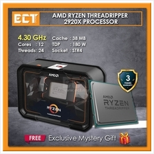 AMD Ryzen Threadripper 2920WX Desktop Processor