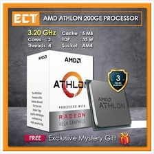 AMD Athlon 200GE Desktop Processor with Radeon\u2122 Vega 3 Graphics