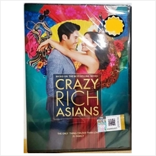 Crazy Rich Asians Movie DVD