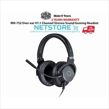 Cooler Master MH752 (MH-752) Over-ear V7.1 Gaming Headset