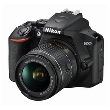 Nikon D3500 DSLR Camera with 18-55mm Lens +16GB+Bag (Import)