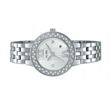 Alba Ladies Stainless Steel Swarovski Crystal Watch VJ22-X211RSS