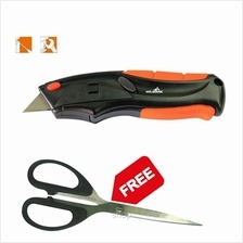 [FREE GIFT] Mr Mark Auto Loading Utility Knife MK-TOL-8905L FREE 8 1/4-Inch Ki)