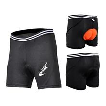 Bike Gel Padded Underwear Cycling Shorts with Thick 3D Pad (2.1cm)