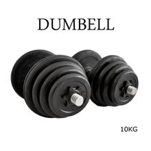 Rubber Black Dumbbell Fitness GYM Dumbell