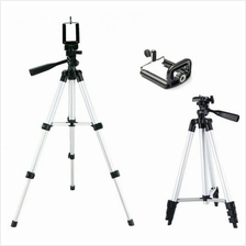JS TEFENG PORTABLE LIGHTWEIGHT CAMERA / SMARTPHONE 3 WAY HEAD TRIPOD S