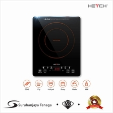 HETCH Induction Cooker (Ultra Slim) IDC-1705-HC 2000W Soft Touch Panel