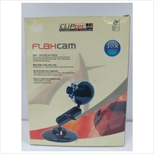 CLiPtec Plus FlaxCam Webcam with 10x Digital Zoom (Clear Old Stock)