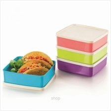 Tupperware Large Square-A-Way (4pcs) 620ml - 11126775)