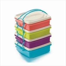 Tupperware Small Goody Box with Cariolier (4pcs) 750ml - 11126316)