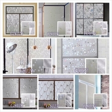 3D Self-Adhesive Window Glass Film Sticker Home Deco Multi Design