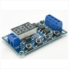 High power MOS cycle timer and delay switch with digital timer display