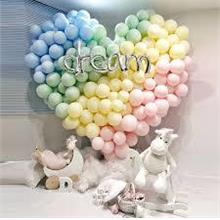 "10"" MACARON COLOUR LATEX BALLOON"