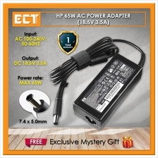 HP Original Genuine Power AC Adapter [PPP009H] - 65w - 18.5V,3.5A