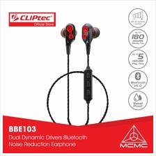 CLiPtec AIR-2SOUL Dual Dynamic Drivers Bluetooth Earphone BBE103)