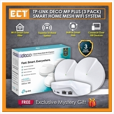 TP-Link Deco M9 Plus (3 Pack) AC2200 Tri Band Smart Home Mesh WiFi Router Syst