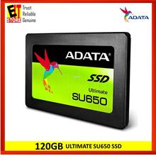 ADATA 120GB ULTIMATE SU650 SSD (3YRS WARRANTY) ASU650SS-120GT