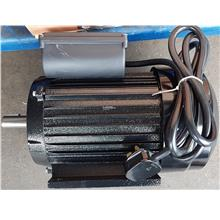 electric motor 3hp 4 pole with pulley 240v single phase