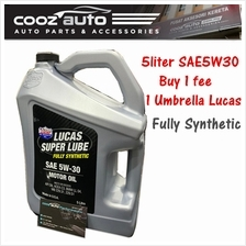 Lucas Super Lube Synthetic Blend 5W30 Motor Oil 5L (1 Bottles)