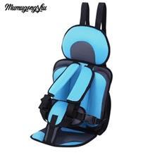 MUMUGONGZHU KIDS SAFETY THICKENING COTTON ADJUSTABLE CHILDREN CAR SEAT (LIGHT