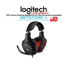 LOGITECH G331 Stereo Gaming Headset for PC, Mac & Console Compatible